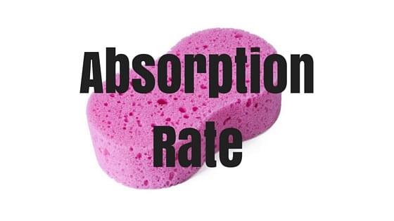 Absorption Rate in Real Estaete- Real Estate