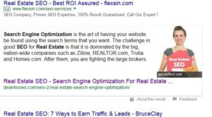 example of organic search result