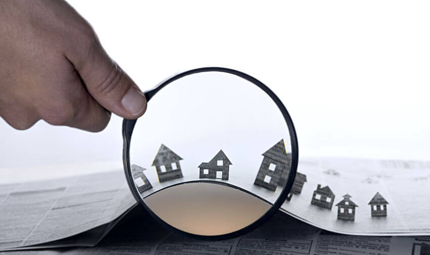 real estate search for homes