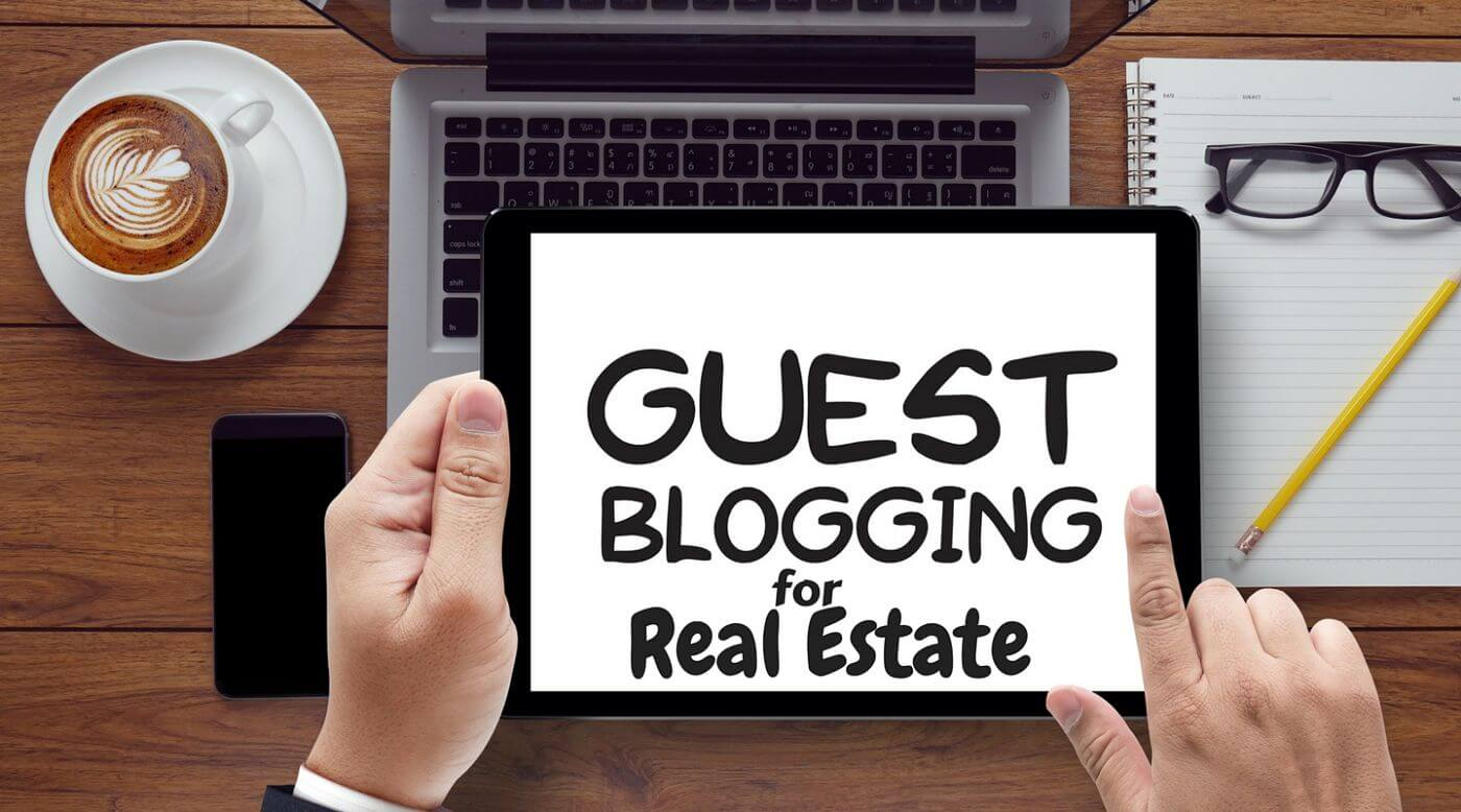 Guest blogging for real estate
