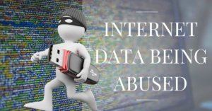 Personal data is getting abused