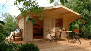 Allwood Escape Mini House Kit Home