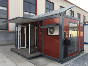Expandable Container House with Solar Power