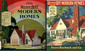 Sears Honor Bilt Modern Homes 1922 and 1923 Catalog Covers