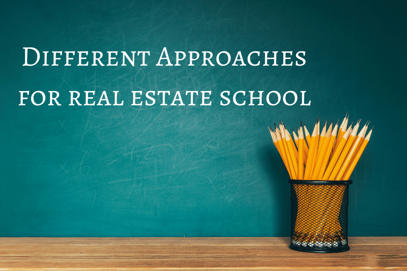 real estate school options